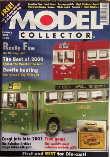 ORIGINAL MODEL COLLECTOR MAGAZINE February 2001